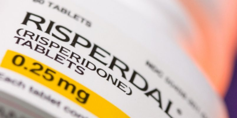 Johnson & Johnson's schizophrenia drug Risperdal is arranged